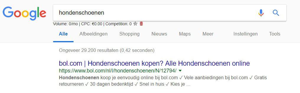 Nummer 1 in Google