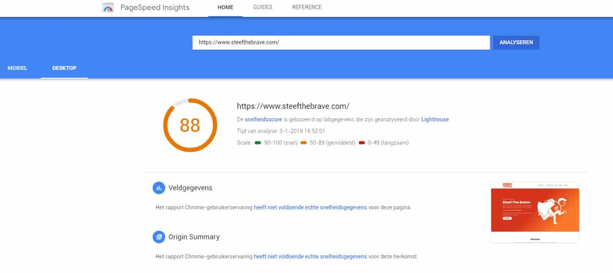 Pagespeed SEO Tool