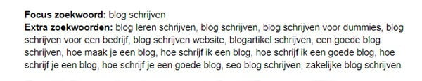 Blog schrijven voorbereiden