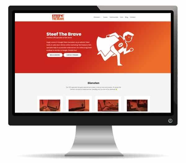 divi website voorbeeld